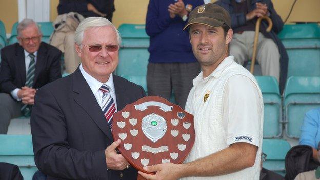 Cornwall captain Tom Sharp