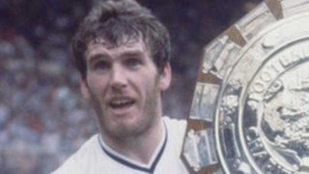 Former Aston Villa striker Peter Withe