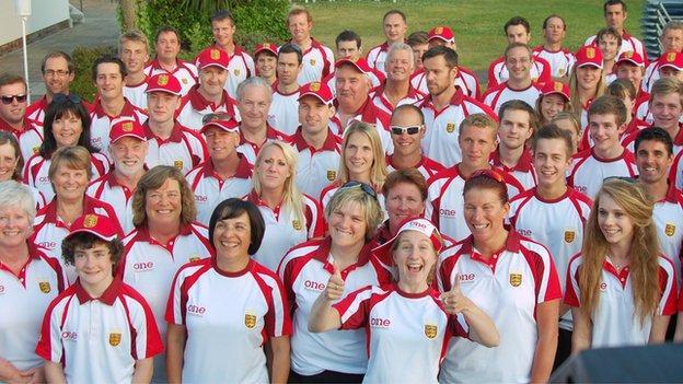Jersey's Island Games team 2013