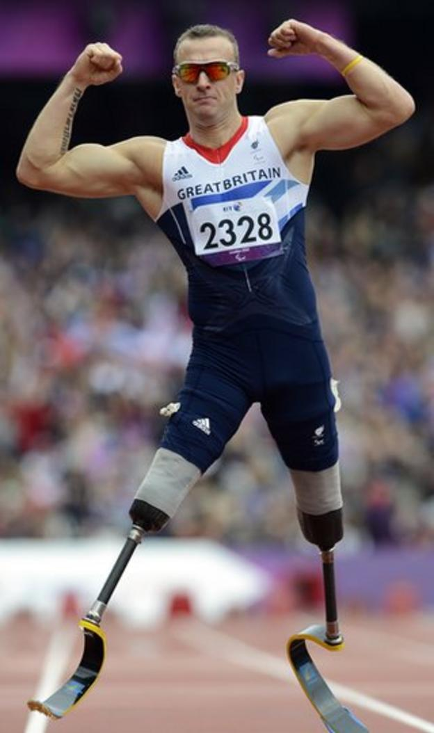 Paralympic champion Richard Whitehead