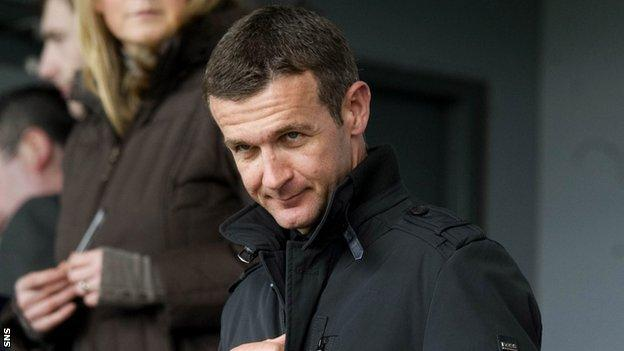 New Queen of the South manager Jim McIntyre