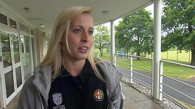 European 800m champion Lynsey Sharp
