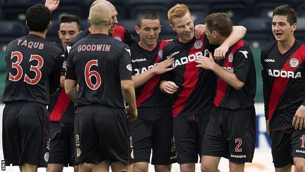 St Mirren finished 10th in the SPL last season