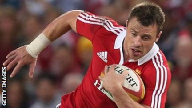 Tommy Bowe Lions