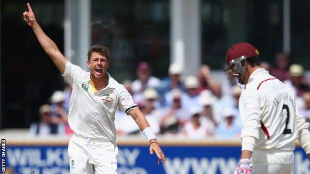 Australia bowler James Pattinson