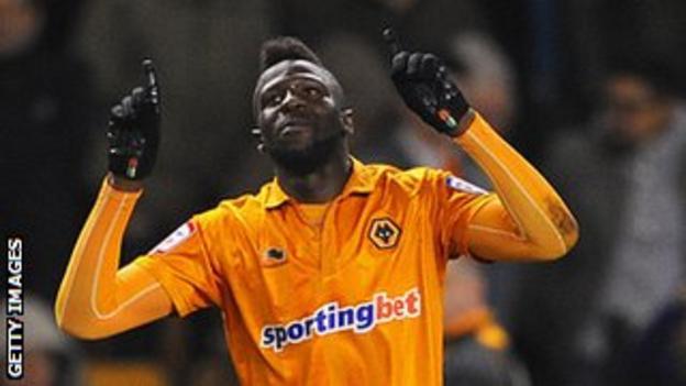 Wolves winger Bakary Sako
