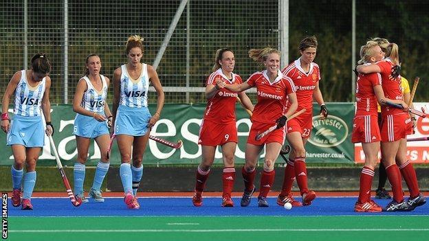 England women's hockey teams