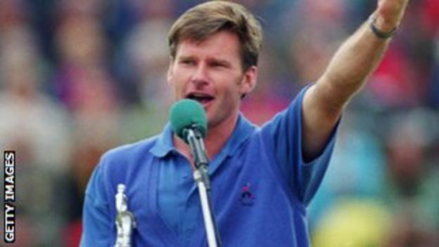 Nick Faldo won at Muirfield in 1992