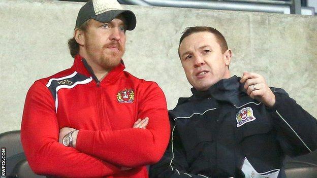 Andy Powell and Kris Radlinski