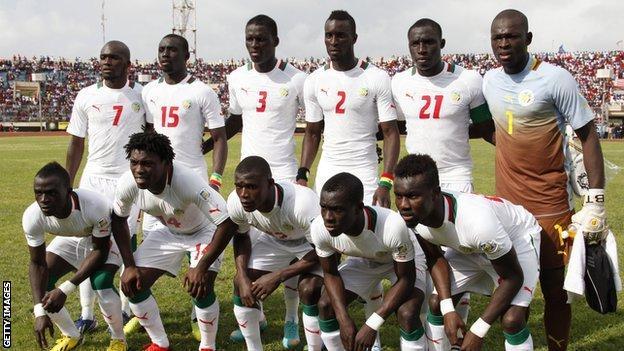 The Senegal national team