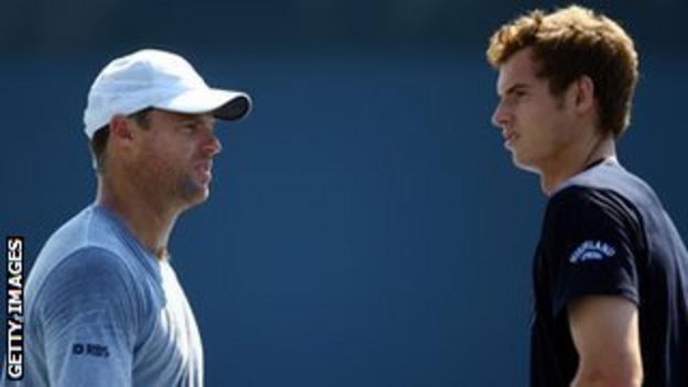 Miles Maclagan and Andy Murray