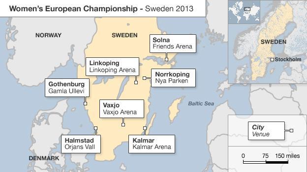 Venue guide for Euro 2013