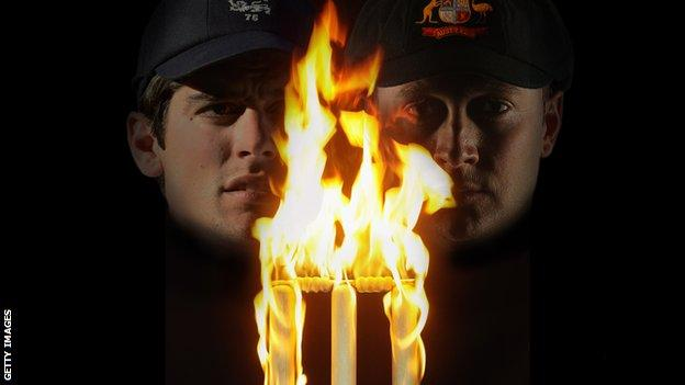 Alastair Cook Michael Clarke Ashes