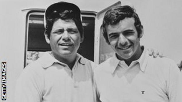Lee Trevino (left) and Tony Jacklin