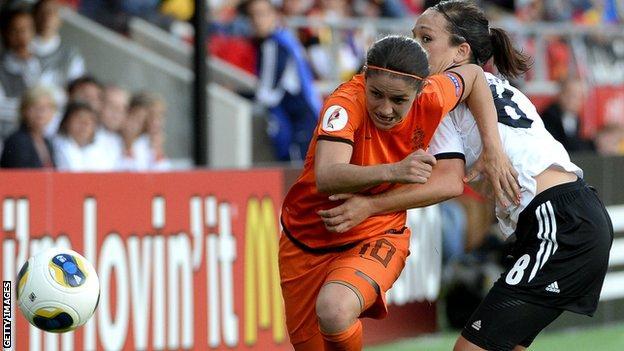 Netherlands against Germany