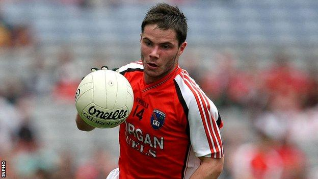 Kevin Dyas of Armagh