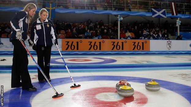 Scottish curling team