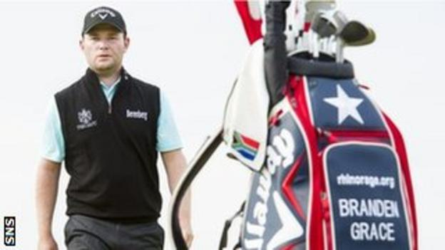 South Africa's Branden Grace