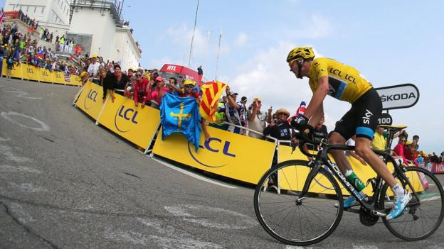 Stage 15: A staggering late attack by Chris Froome sees him win the legendary Mont Ventoux stage and blow his rivals away in the race for the yellow jersey in Paris