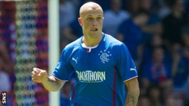 Rangers midfielder Nicky Law