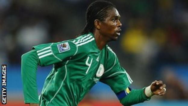 Fomer Nigeria striker Nwankwo Kanu
