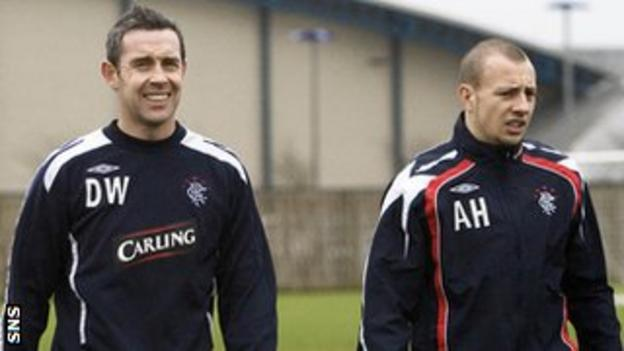 David Weir and Alan Hutton
