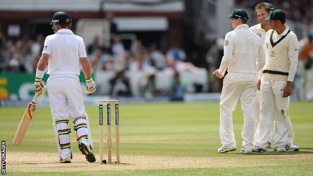 Ian Bell and Australia wait for a decision