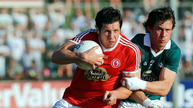 Sean Cavanagh and Emmet Bolton in action as Tyrone see off Kieran McGeeney's Kildare