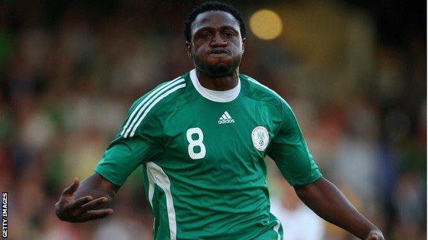 Nigeria's Michael Eneramo