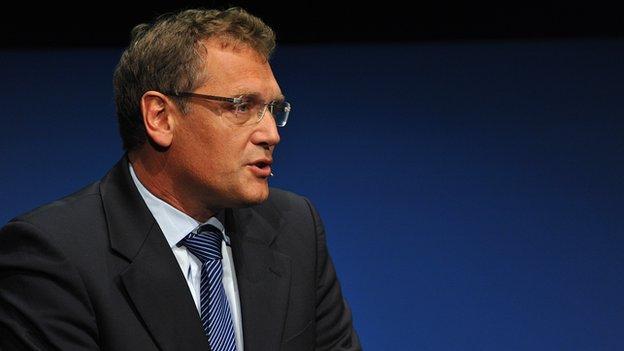 Fifa's Secretary General Jerome Valcke