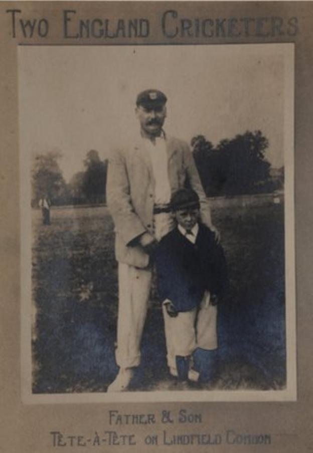 Fred and Maurice Tate in 1900