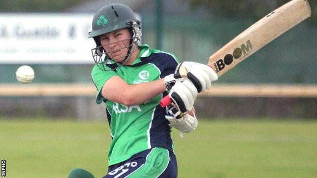 Clare Shillington made just five runs against Sri Lanka
