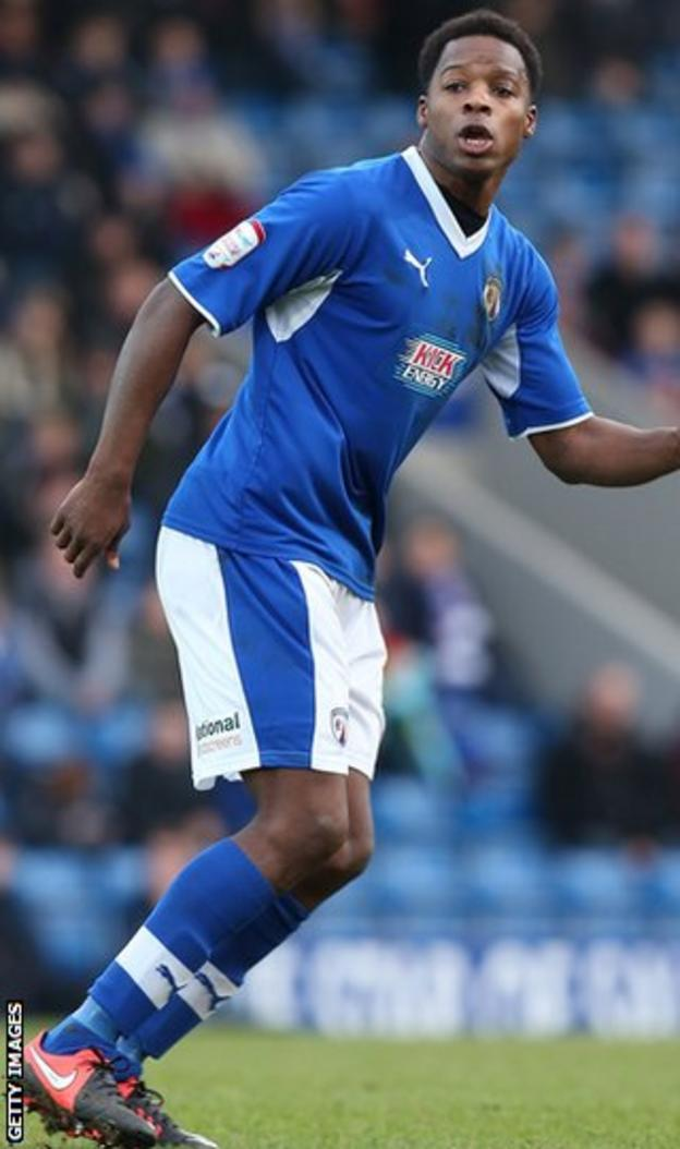Neal Trotman in action for Chesterfield