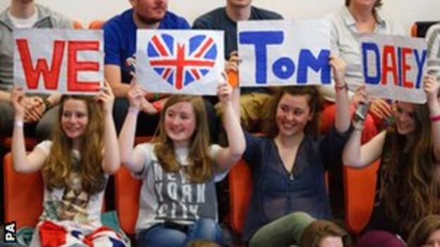 Tom Daley fans