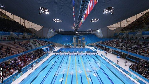 Acquatics Centre at London2012