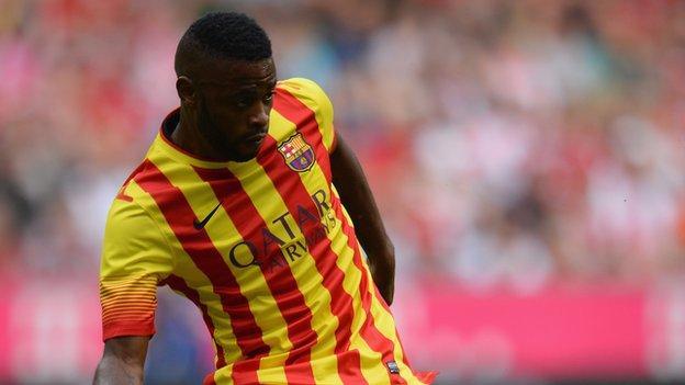 Barcelona's Alex Song
