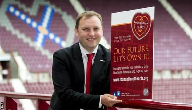 Ian Murray, independent chair of Foundation of Hearts