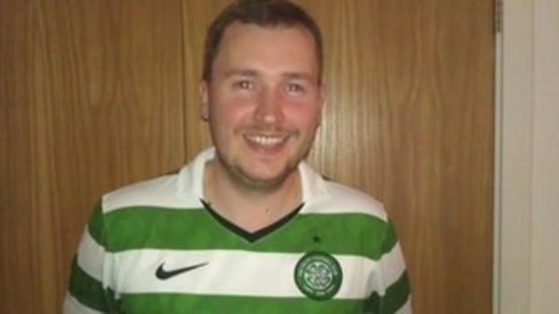 Marc Byrne - Celtic fan