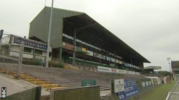 The Mayflower Stand at Home Park