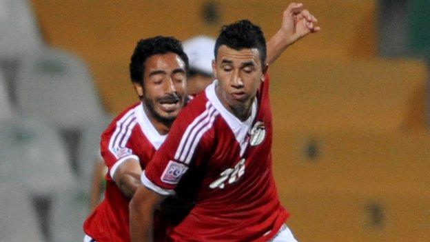 Egypt will play Uganda in August