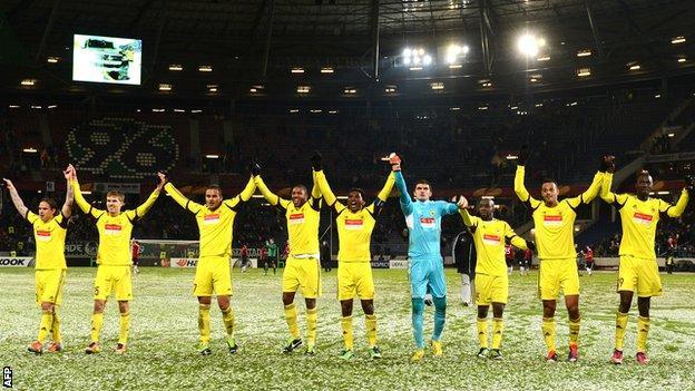 Anzhi players