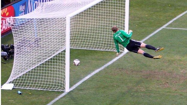 Frank Lampard's goal that never was