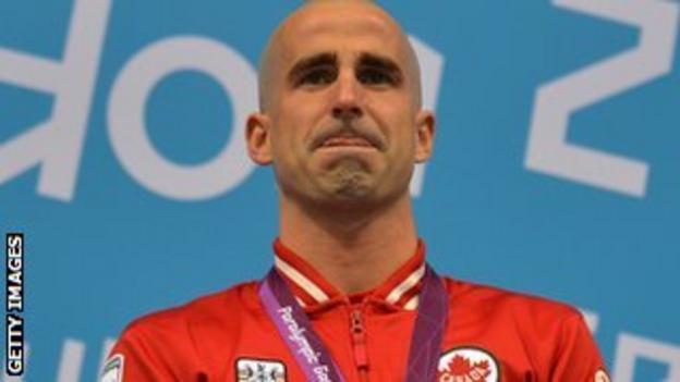 Canada's Benoit Huot