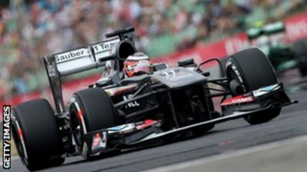 Sauber's Nico Hulkenberg