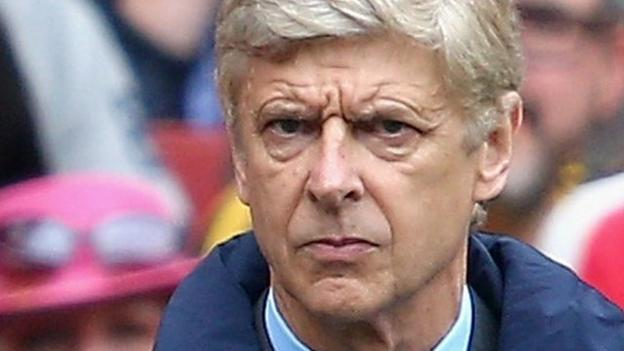 Arsenal fans question Arsene Wenger's future as manager