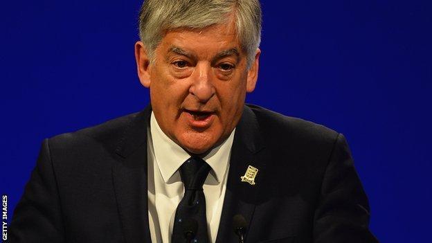 Former FA chairman David Bernstein