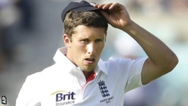 England debutant Simon Kerrigan