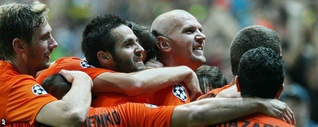 Shakhter Karagandy shocked Celtic in the first leg of their play-off in Kazakhstan