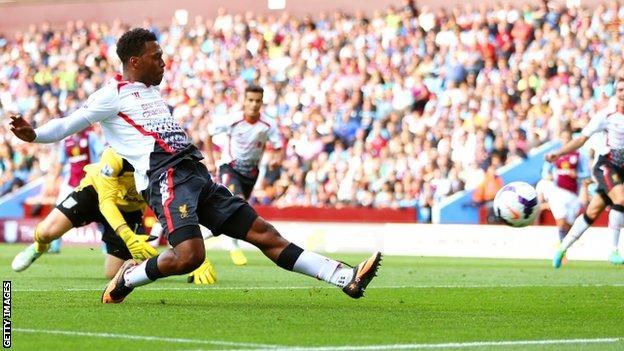 Daniel Sturridge puts Liverpool in front