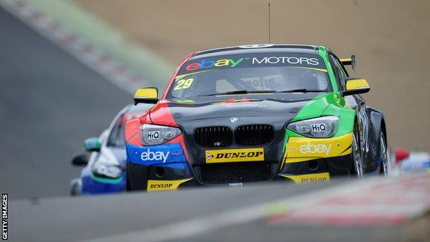 Colin Turkington in his BMW 1 Series